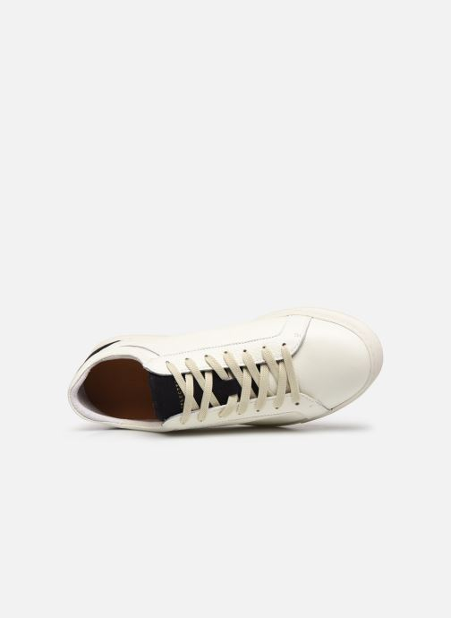 Sneakers Selected Homme SLHDAVID CONTRAST TRAINER W Bianco immagine sinistra