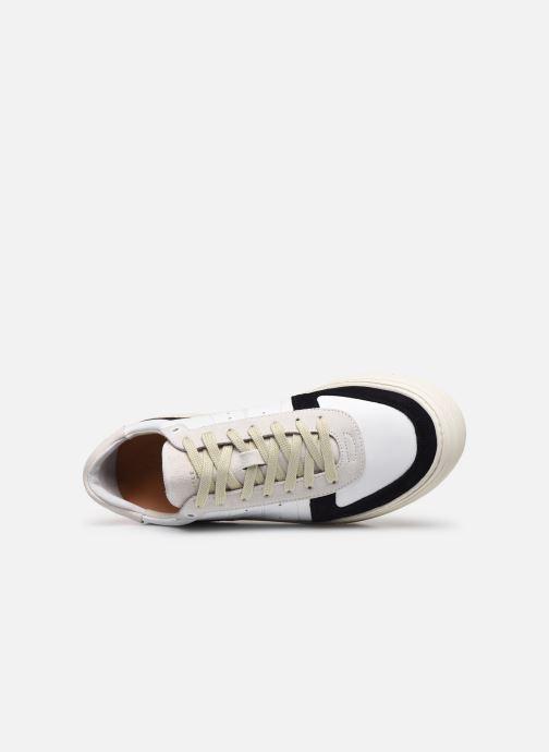 Sneaker Selected Homme SLDURAN RETRO TRAINER W weiß ansicht von links