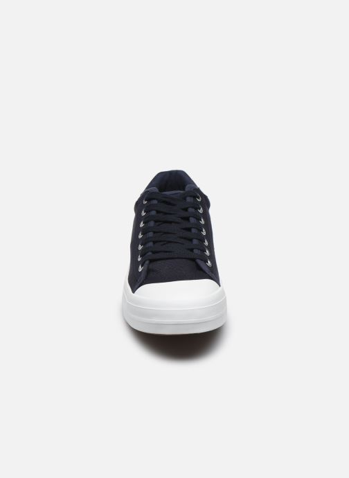 Sneakers Selected Homme SLHSIMON CANVAS TRAINER W Azzurro modello indossato