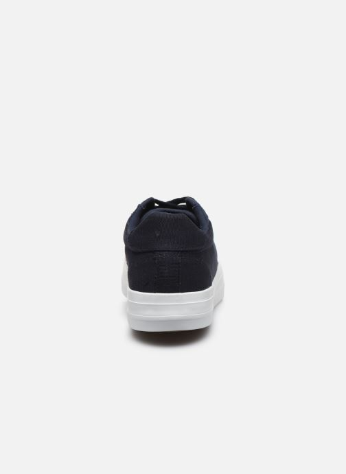 Deportivas Selected Homme SLHSIMON CANVAS TRAINER W Azul vista lateral derecha