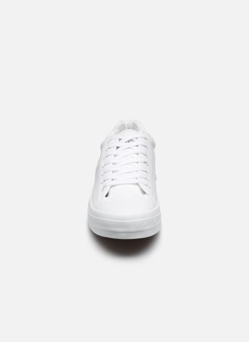 Sneaker Selected Homme SLHSIMON CANVAS TRAINER W weiß schuhe getragen