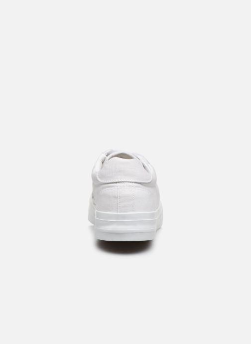 Sneaker Selected Homme SLHSIMON CANVAS TRAINER W weiß ansicht von rechts