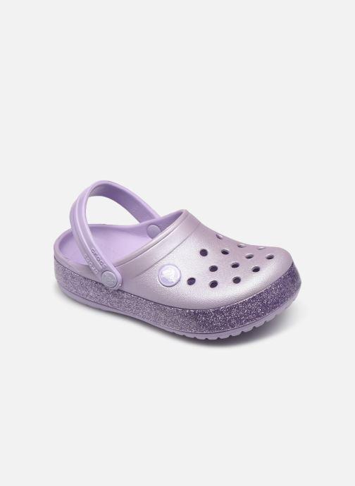 Sandales et nu-pieds Crocs Crocband Glitter Kids Violet vue détail/paire