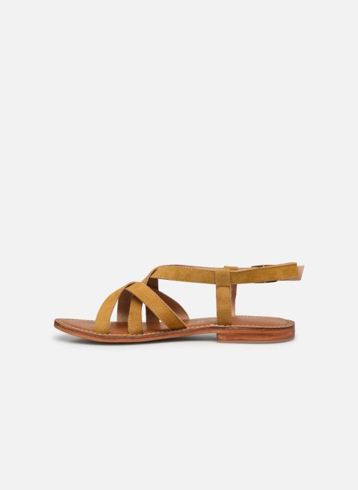 Sandales et nu-pieds L'Atelier Tropézien IL211 Jaune vue face