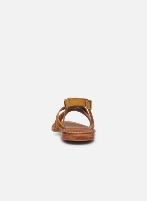 Sandales et nu-pieds L'Atelier Tropézien IL211 Jaune vue droite