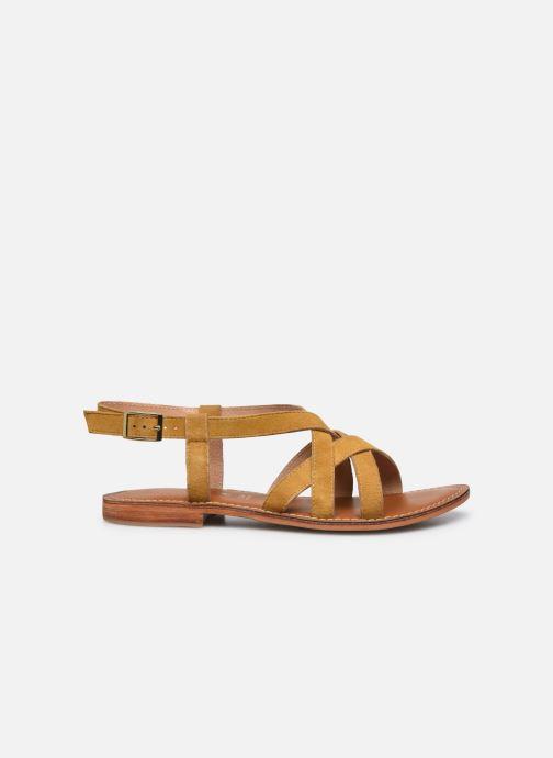Sandales et nu-pieds L'Atelier Tropézien IL211 Jaune vue derrière