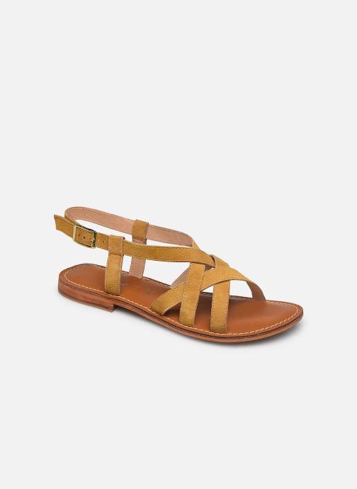 Sandales et nu-pieds L'Atelier Tropézien IL211 Jaune vue détail/paire