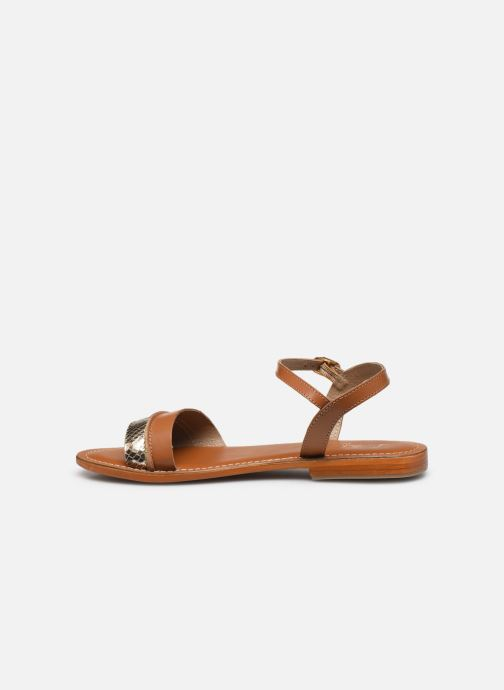 L\'Atelier Tropézien SH324 (Bruin) - Sandalen  Bruin (TAN BROWN SNAKE C) - schoenen online kopen