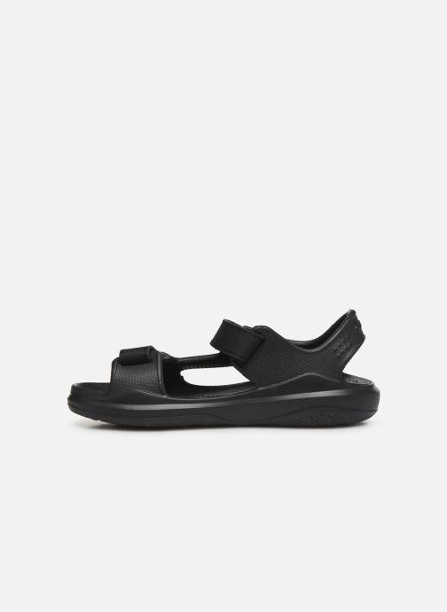 Sandales et nu-pieds Crocs Swiftwater Expedition Sandal K Noir vue face