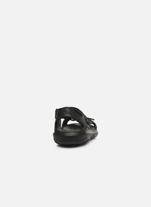 Sandalias Crocs Swiftwater Expedition Sandal K Negro vista lateral derecha