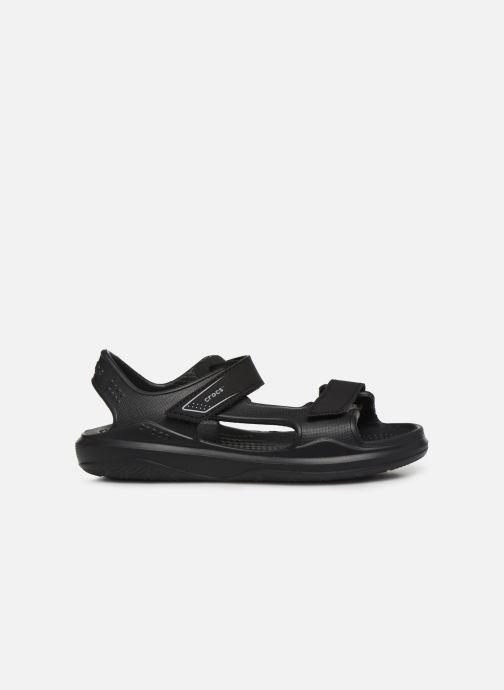 Sandales et nu-pieds Crocs Swiftwater Expedition Sandal K Noir vue derrière