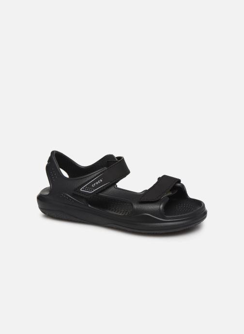 Sandales et nu-pieds Crocs Swiftwater Expedition Sandal K Noir vue détail/paire