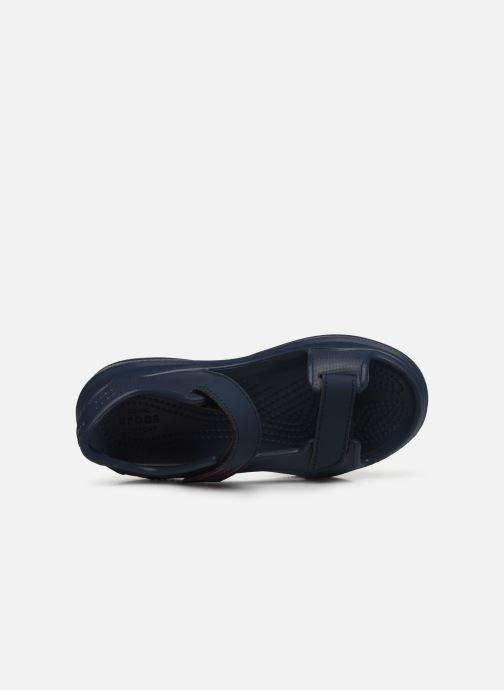 Sandali e scarpe aperte Crocs Swiftwater Expedition Sandal K Nero immagine sinistra