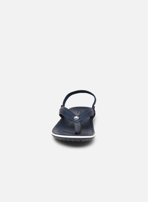 Slippers Crocs Crocband Strap Flip K Blauw model