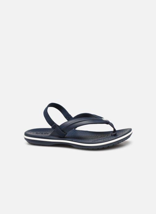 Slippers Crocs Crocband Strap Flip K Blauw achterkant
