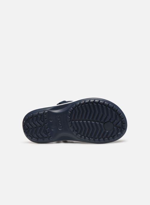 Slippers Crocs Crocband Strap Flip K Blauw boven