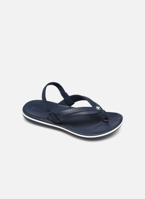 Slippers Crocs Crocband Strap Flip K Blauw detail