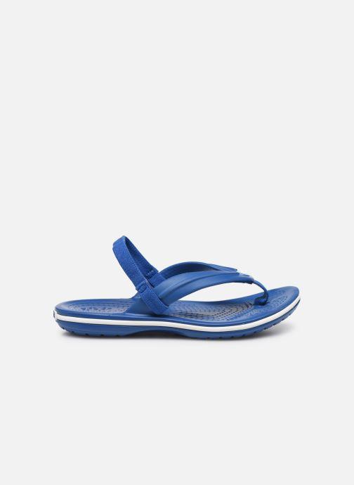 Zehensandalen Crocs Crocband Strap Flip K blau ansicht von hinten