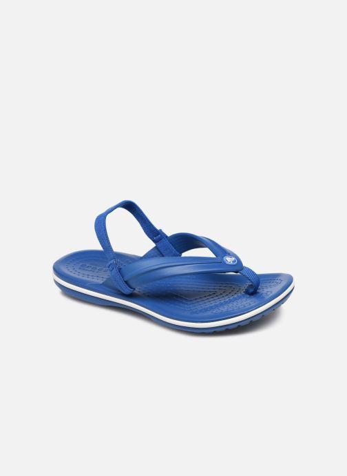Zehensandalen Crocs Crocband Strap Flip K blau detaillierte ansicht/modell