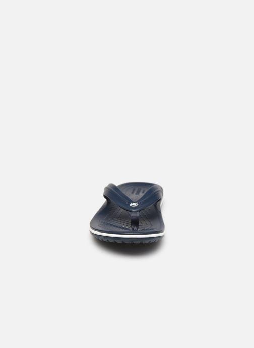 Tongs Crocs Crocband Flip GS Bleu vue portées chaussures