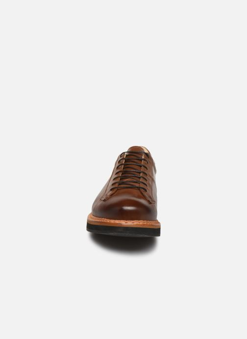 Zapatos con cordones Neosens Picudo S064 Marrón vista del modelo