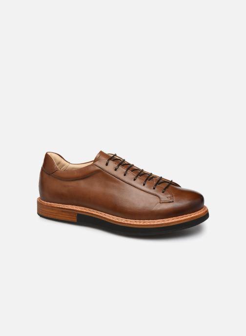 Zapatos con cordones Neosens Picudo S064 Marrón vista de detalle / par