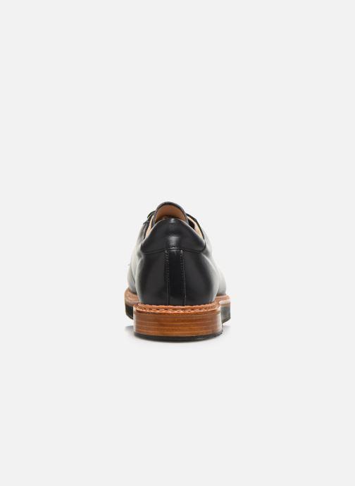 Schnürschuhe Neosens Picudo S064 schwarz ansicht von rechts