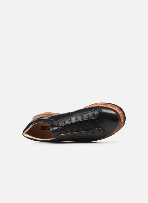 Chaussures à lacets Neosens Picudo S064 Noir vue gauche