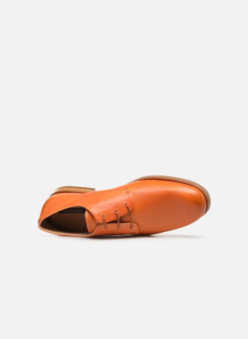 Chaussures à lacets Neosens Brancello S082 Orange vue gauche