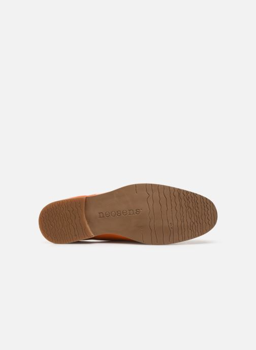 Chaussures à lacets Neosens Brancello S082 Orange vue haut