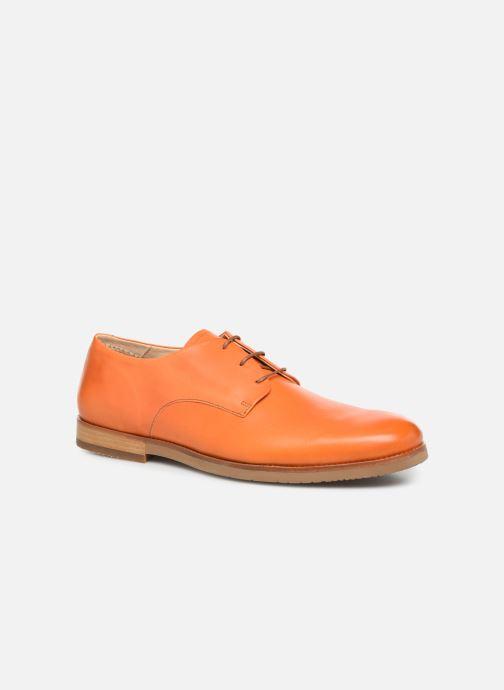 Chaussures à lacets Neosens Brancello S082 Orange vue détail/paire