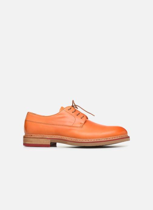 Chaussures à lacets Neosens Aris S090 Orange vue derrière