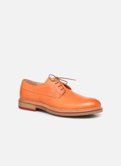 Chaussures à lacets Neosens Aris S090 Orange vue détail/paire