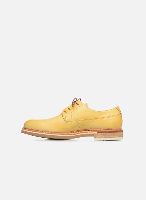 Zapatos con cordones Neosens Aris S090 Amarillo vista de frente