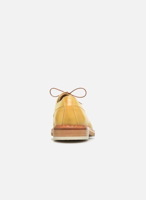 Chaussures à lacets Neosens Aris S090 Jaune vue droite