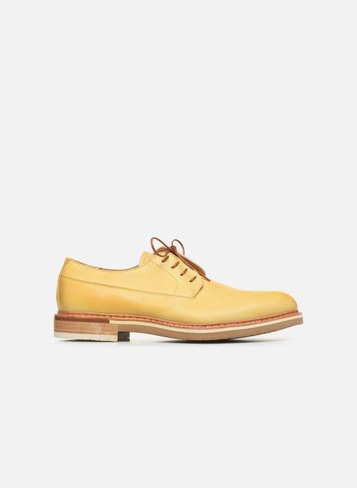 Zapatos con cordones Neosens Aris S090 Amarillo vistra trasera