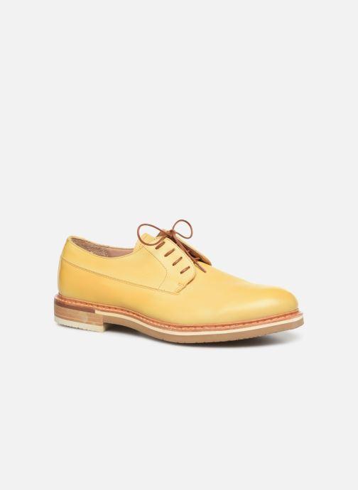 Chaussures à lacets Neosens Aris S090 Jaune vue détail/paire