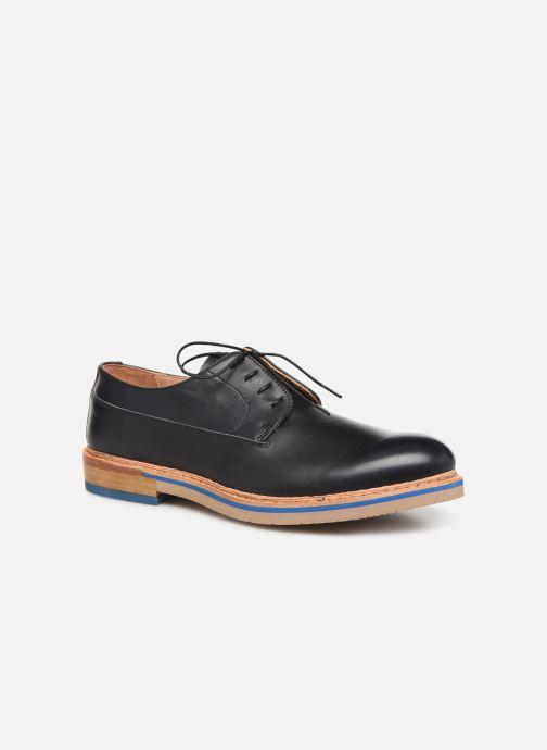 Chaussures à lacets Neosens Aris S090 Noir vue détail/paire