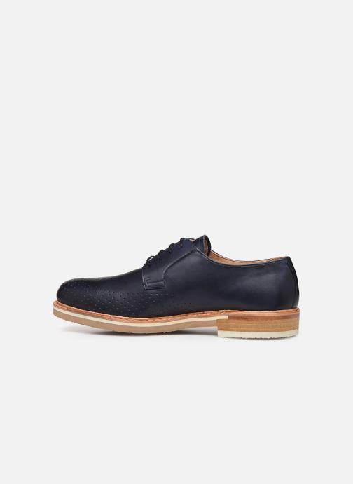 Zapatos con cordones Neosens Aris S091 Azul vista de frente