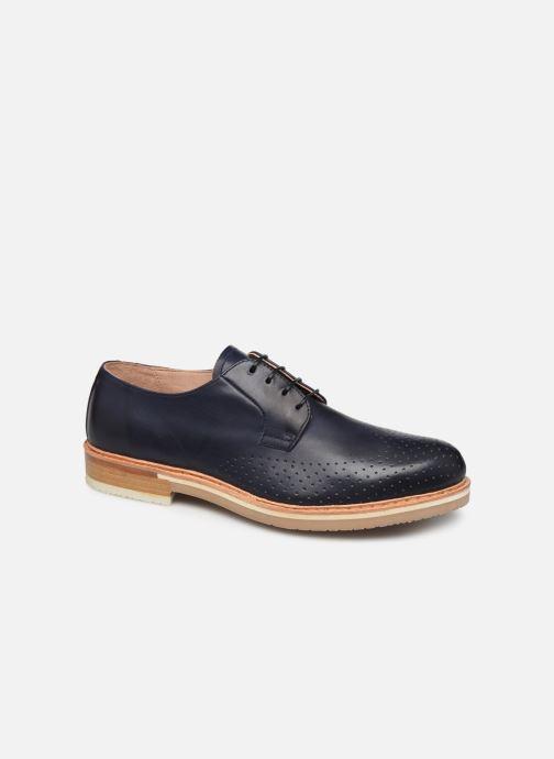 Zapatos con cordones Neosens Aris S091 Azul vista de detalle / par