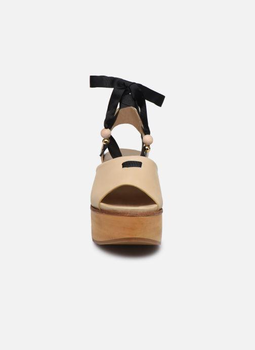 Sandales et nu-pieds Neosens Breval S508 Beige vue portées chaussures