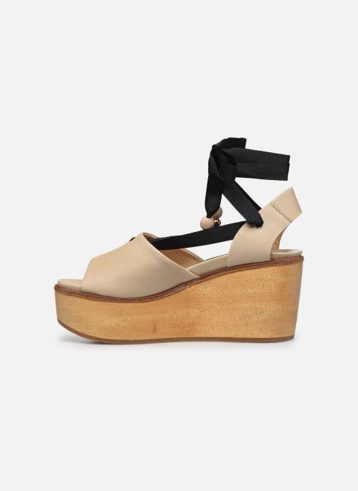 Sandales et nu-pieds Neosens Breval S508 Beige vue face