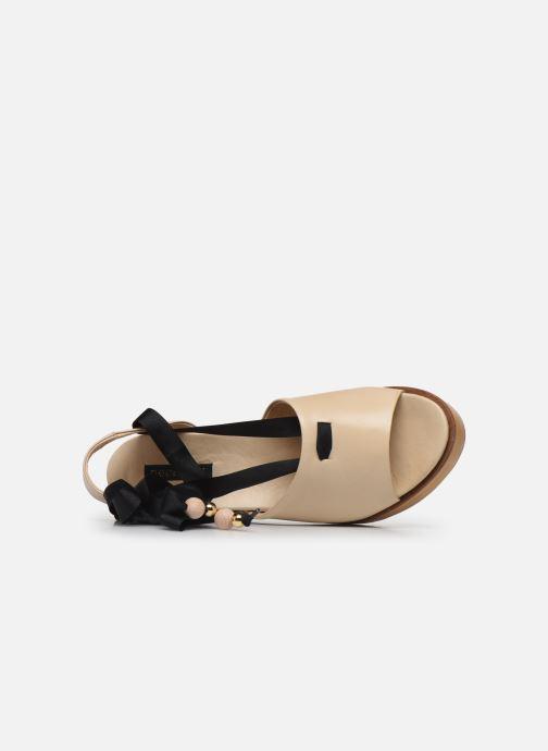 Sandales et nu-pieds Neosens Breval S508 Beige vue gauche