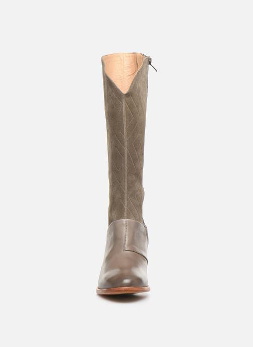 Bottes Neosens Cynthia S538 Vert vue portées chaussures