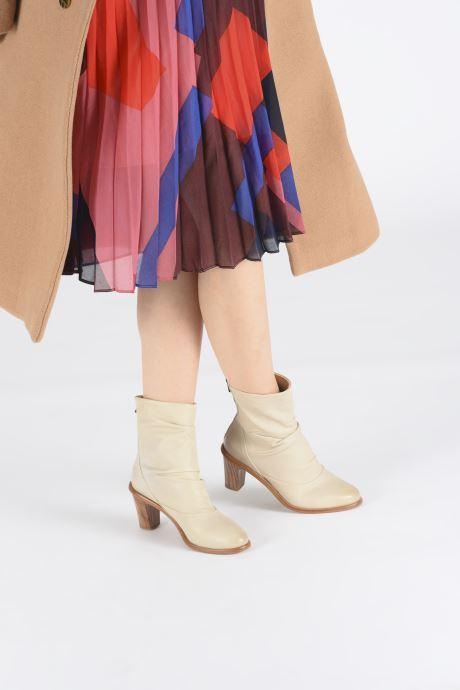 Bottines et boots Neosens Cynthia S555 Blanc vue bas / vue portée sac