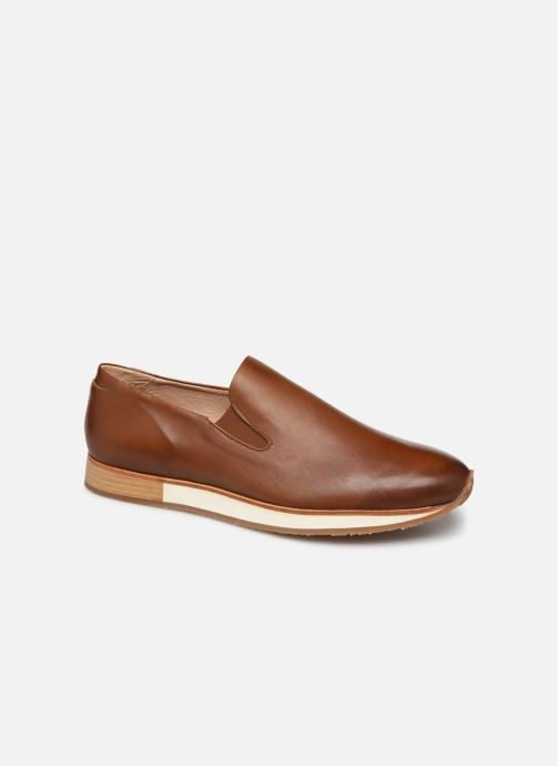 Loafers Neosens Greco S591 Brown detailed view/ Pair view