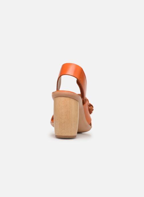 Sandali e scarpe aperte Neosens Mulata S624 Arancione immagine destra