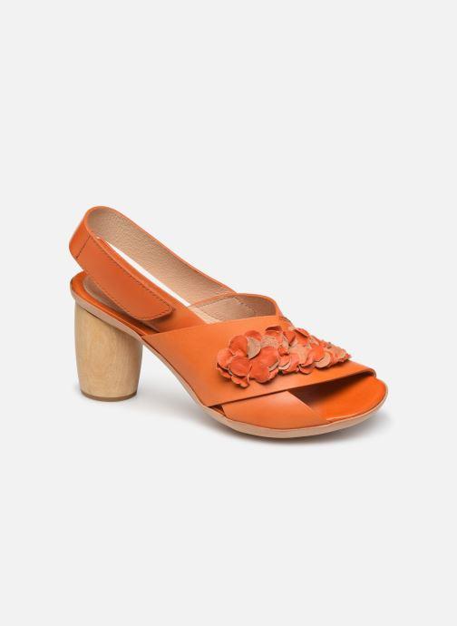 Sandalias Neosens Mulata S624 Naranja vista de detalle / par