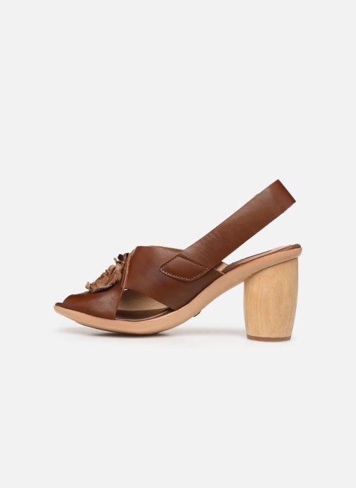 Sandales et nu-pieds Neosens Mulata S624 Marron vue face