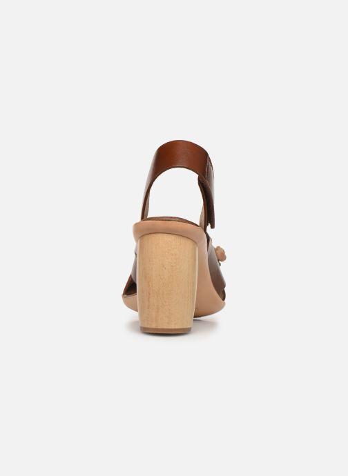 Sandales et nu-pieds Neosens Mulata S624 Marron vue droite